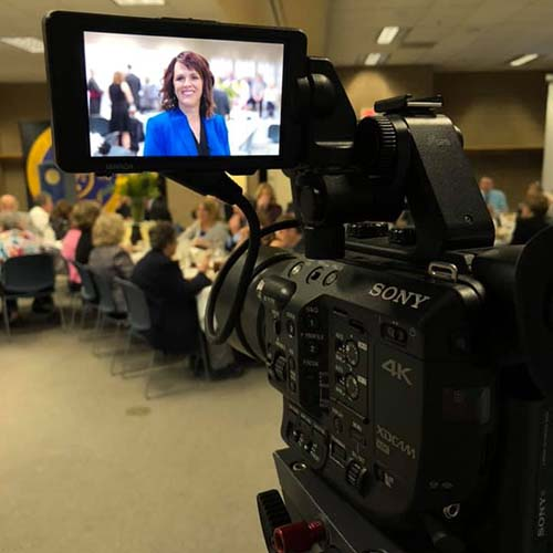 Corporate conference meeting videography - Clark Young Videography - Omaha, NE